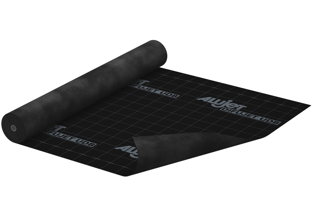 alujet difujet udb unterspannbahnen unterdeckbahnen alujet gmbh. Black Bedroom Furniture Sets. Home Design Ideas